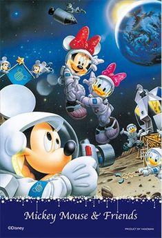 ★3割引!!★プリズムアート70ピースジグソーパズル:ディズニー ムーンウォーカーズ - 組絵門(くみえもん)