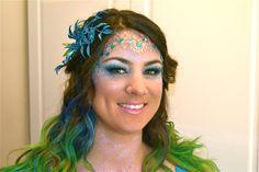 Mermaid Makeup & Hair for Halloween