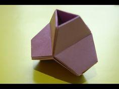 Origami Modular Kusudama Кусудама оригами - YouTube