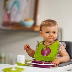 ¡Hora de comer! Hazlo divertido para los peques y práctico para los padres con nuestra gama de accesorios Ellipse http://www.beaba.com/es/categorie/116  #BÉABAteayuda #Alimentación #Comida #Bebés #AlaMesa