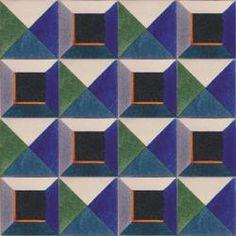 3407 Portuguese Spanish handmade wall decorative clay ceramic tile DIAMOND POINT RITZ
