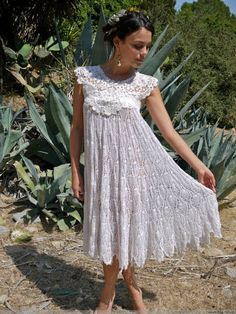 Great site for Crocheted and Knitted dresses, etc.