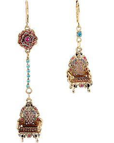 IMPERIAL THRONE MISMATCH EARRING PINK accessories jewelry earrings fashion