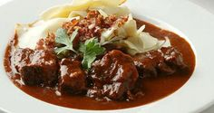 Goulash - Recipes from the restaurant Kronprinz Rudolph in Vienna