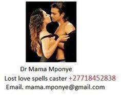 powerful spells caster Mama Mponye cast effective Love Spells - Money spells - Lottery spells - Magic Spells for Love