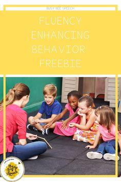 Fluency Enhancing Behavior Freebie