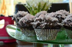 Chocolate-Coconut Cupcakes