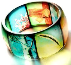 #Etsy #jewelry AMAZING bangle with viewfinder images!!! going on my Christmas list!