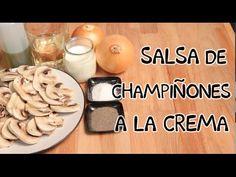 Salsa de champiñones a la crema | INNATIA.COM
