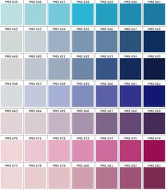 Real Access Promotional Products Creative Business Pms Color Chart