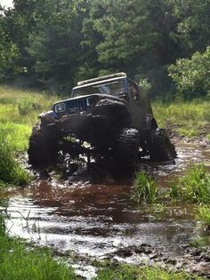 """What I'd be thinking """"man if I get stuck I'm going to get all wet a dirty to get out of this mess"""""""