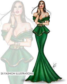 Dress Design Sketches, Fashion Design Sketchbook, Fashion Design Drawings, Fashion Sketches, Fashion Illustration Poses, Dress Illustration, Fashion Illustrations, Fashion Illustration Tutorial, Croquis Fashion