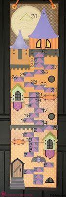 JGW Halloween Countdown Tower from SVG ATTIC