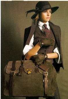 Ralph Lauren.. Something about this look.. I really like.. the Bag. is to die for! hahaha