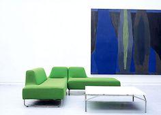 Contemporary Scandinavian Furniture Design Ugo Modular Seating Green