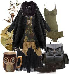 Dark Mori Girl. Dark Adventures by pandora-hydrangea-velours featuring a tea mug #want