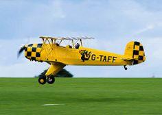Bucker Jungmann - Sywell Great War Airshow