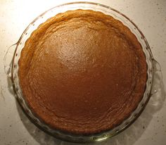 No Crust pumpkin pie: 2 cans pumpkin, 4 eggs, 3/4 cup sugar, 1 cup almond milk, 1 tablespoon pumpkin spice, 1 teaspoon salt. Mix together. Use almond oil to grease pan. Bake 350 degrees for 20min. Delicious--and much lower fat and sugar than other recipes...plus gluten free!