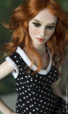 OOAK BJD Art Doll / Шарнирная кукла Аннет — работа дня на Ярмарке Мастеров ➡ http://www.livemaster.ru/item/10832825