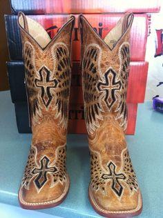 Laser cut Ferrini boots