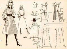 Pattern-fashion 1960s