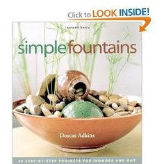 A complete tutorial on how to make your own waterfall terrarium, includes a video and complete instructions with pictures. Indoor Tabletop Fountains, Indoor Water Features, Tabletop Water Fountain, Diy Water Feature, Little Free Libraries, Free Library, How To Make Terrariums, Build A Better World, Moving Water