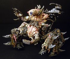 40k - The Maggot, Soul Grinder of Nurgle by Jimmy Grill
