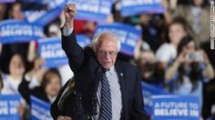 Democrats took giant steps toward party unity Thursday as Bernie Sanders vowed to work together with Hillary Clinton to defeat Donald Trump in November and President Barack Obama and Vice President Joe Biden formally endorsed Clinton for president.