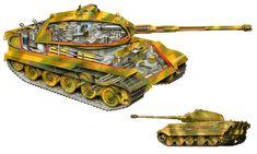 King Tiger Tank - Alex Pang - Debut Art