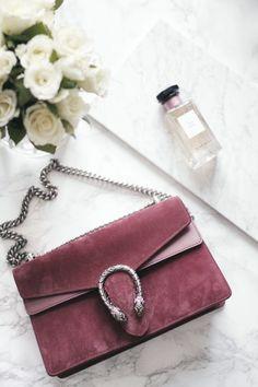 Queen of Jetlags - Rose Suede Gucci Dionysus Bag handbags wallets - amzn.to/2ha3MFe - Handbags & Wallets - http://amzn.to/2hEuzfO