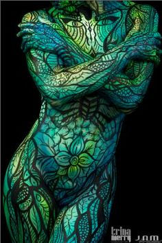 Bodypaintings by Trina Merry at Body Art: An Evening Science Mingle (1/25/13)…