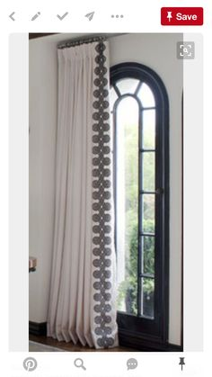 Beautiful Basement Window Curtains