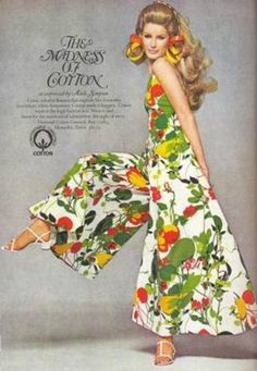vintage fashion ads | Cotton ad, 1967 - Found in Mom's Basement