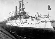 USS US Battleship Iowa War Navy Ship c 1900 photo picclick.com