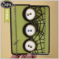 Sizzix Die Cutting Tutorial | Halloween Flip-it Jeanne Streiff