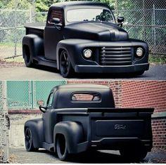 Stealth Classic Ford Trucks, Classic Cars, Classic Style, Custom Trucks, Custom Cars, Chevy Trucks, Pickup Trucks, Lifted Trucks, Lowered Trucks