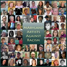 Maryland Artists Against Racism #MAAR @abezan10 thank you for coordinating and creating this photo mosaic for the good of the cause. #marylandartists Photo Mosaic, Maryland, Lisa, Photo Wall, Handmade Jewelry, Artists, Art Prints, Frame, Movie Posters