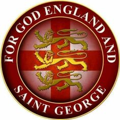 English and proud! Never forget St Georges Day! Why doesn't this country ever make a big thing of such a proud day, we must never lose our identity! Happy St George's Day, St George's Cross, Animal Muppet, St Georges Day, Skinhead Girl, England, King And Country, Knights Templar, My Heritage