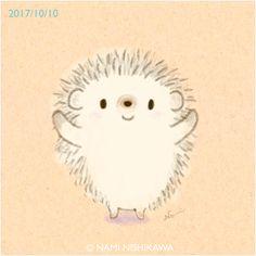 1301 久しぶりだね!抱っこして! Give me a hug! Hedgehog Tattoo, Hedgehog Drawing, Cartoon Drawings, Easy Drawings, Pictures To Draw, Cute Pictures, Hedgehog Illustration, Animal Hugs, Baby Hedgehog