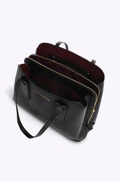 Marc Jacobs- Editor Shoulder Bag in Black Laptop Tote, Tote Backpack, Messenger Bags, Ted Baker Handbag, Marc Jacobs Purse, Teen Backpacks, Leather Backpacks, School Backpacks, Work Bags