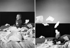 such joy from throwing tissues in bed