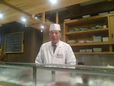 """Consider the Sushi Bar the """"Real"""" Thing - Say """"Omakase"""" and your chef will give you his best of the da"""