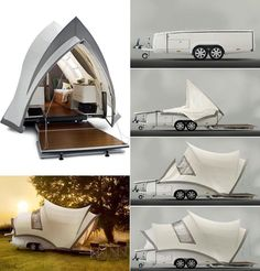 The Opera pop up camper, by Axel Enthoven