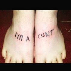 If you're lucky, the tattoo is somewhere people can't see it. | 19 Things You'll Understand If You Have A Crap Tattoo