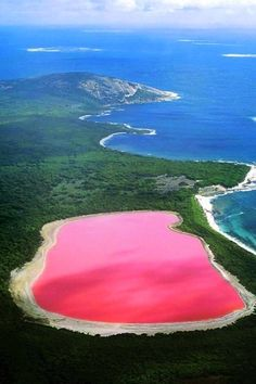 These are the best travel destinations for an Instagram-worthy summer getaway...obviously on our list is Lake Hillier in Australia.