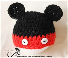 Preemie-sized pattern ~ Minnie and Mickey