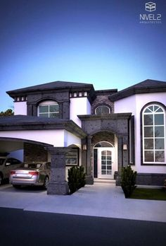 Declutter And Style And Design For Put Up-Spring Crack Homeschool Good Results Casas Elegantes Dream Home Design, Modern House Design, My Dream Home, Modern Home Exteriors, Modern Interior, Style At Home, Luxury Homes Dream Houses, Dream House Exterior, House Goals