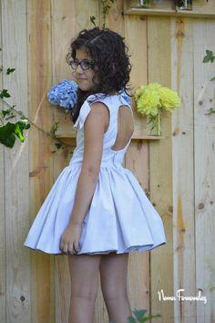 Vestido LYA T 6,8 y 10 Girls Dresses, Flower Girl Dresses, Summer Dresses, Wedding Dresses, Style, Diy, Fashion, Kids Fashion, Party Dresses