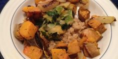 Meatless Monday: Quinoa with Lentils and Roasted Vegetables