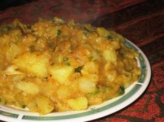 This is a great recipe for a potatoe side dish from Uganda, It is simple to make, fast And very tasty! Posted for ZWT 4.